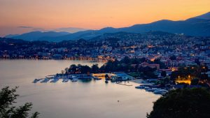Sunset Lugano