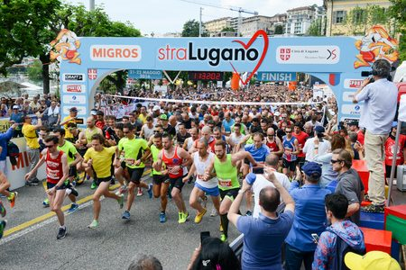 StraLugano Run Half Marathon
