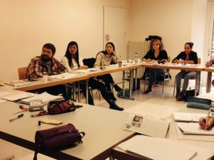 ILI students classroom