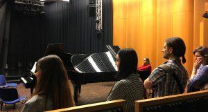 Students @ concert